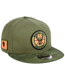 New Era Milwaukee Bucks Tip Off 9FIFTY Snapback Cap