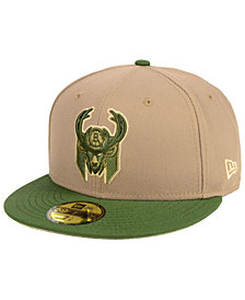 New Era Milwaukee Bucks Fall 2 Tone Combo 59FIFTY-FITTED Cap
