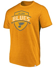 Majestic Men's St. Louis Blues Flex Classic Tri-Blend T-Shirt