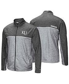 Colosseum Men's Kansas Jayhawks Reflective Full-Zip Jacket