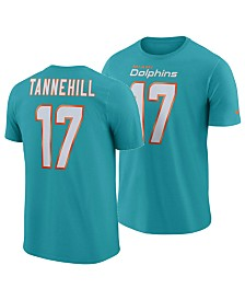 4ab932cd6e Nike Men s Ryan Tannehill Miami Dolphins Pride Name and Number Wordmark T- Shirt