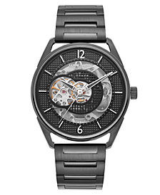 Kenneth Cole New York Men's Automic Black Bracelet watch 42mm