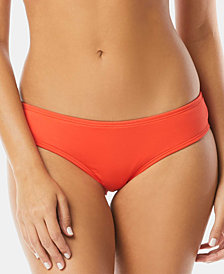Vince Camuto Riviera Shirred Cheeky Bikini Bottoms