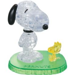 3D Crystal Puzzle - Peanuts Snoopy with Woodstock