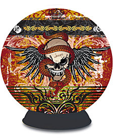 Lifestyle 3D Puzzle Sphere - Skull Tattoo