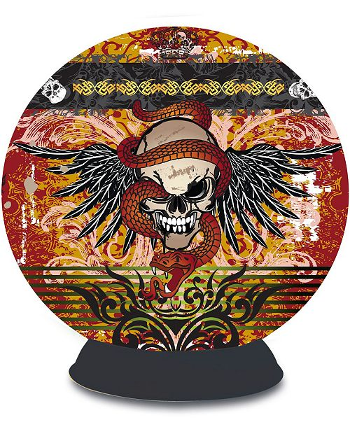 Areyougame Lifestyle 3D Puzzle Sphere - Skull Tattoo