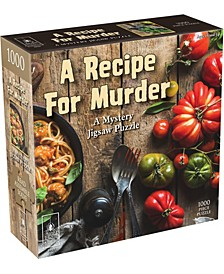 A Recipe for Murder - Mystery Jigsaw Puzzle