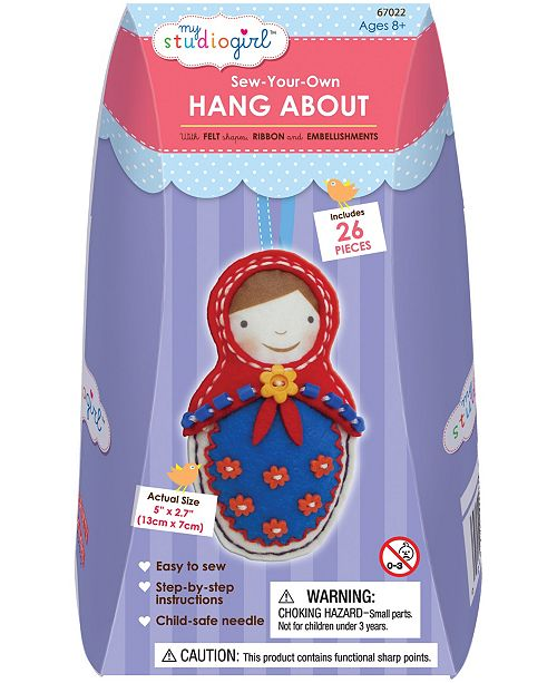 Areyougame Sew-Your-Own Hang About - Babushka