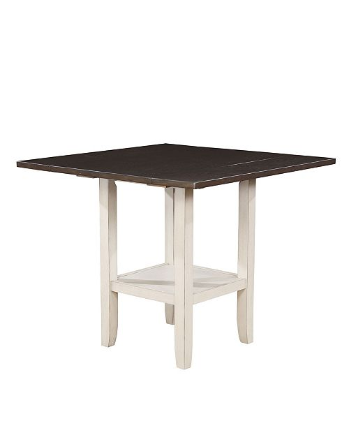 Pierson I Two-Tone Storage Dining Table