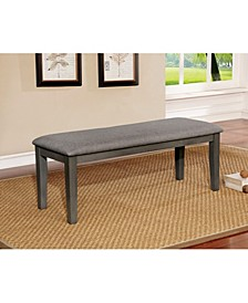 Tristen Transitional Fabric Dining Bench