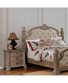 Roseherd Intricately Traditional Nightstand