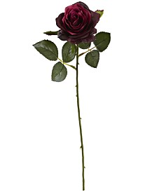 "Nearly Natural 18"" Rose Artificial Flower, Set of 24"