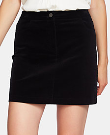 1.STATE Corduroy Mini Skirt
