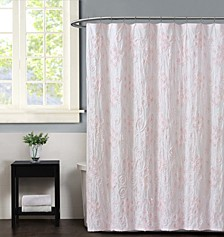 Pretty Petals Pink  Shower Curtain