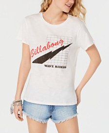 Billabong Juniors' Ride The Wave Cotton Graphic-Print T-Shirt