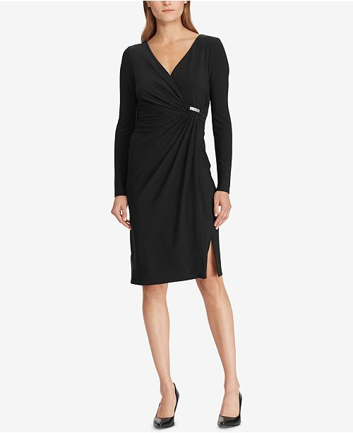 Lauren Ralph Lauren Shirred Jersey Dress