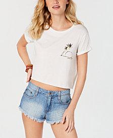 Billabong Juniors' Cotton Palms Graphic-Print T-Shirt