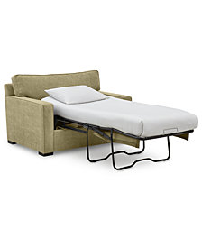 "Radley 54"" Fabric Chair Bed - Custom Colors, Created by Macy's"