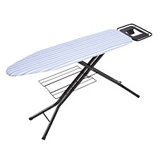 Honey Can Do Adjustable Deluxe Ironing Board with Iron Rest