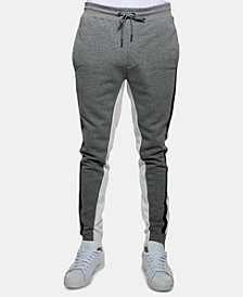 Sean John Men's Slim-Fit Side-Striped Track Pants