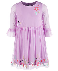 Epic Threads Big Girls Embroidered Mesh Dress, Created for Macy's