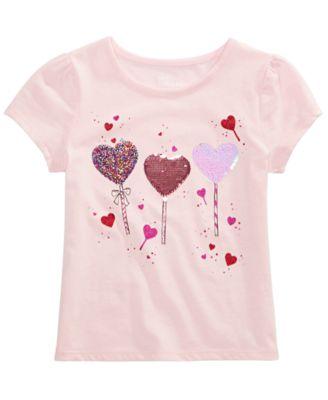 girls sequin shirt