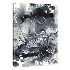 Aqua Decorative Canvas Wall Art
