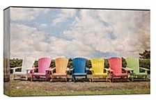 Chairs  Decorative Canvas Wall Art