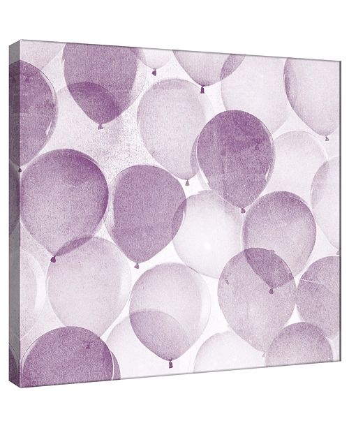 PTM Images Balloons In Midnight B Decorative Canvas Wall Art