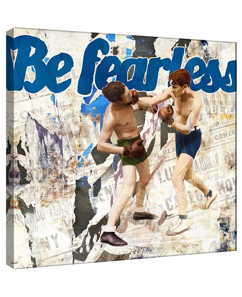 PTM Images Fearless Decorative Canvas Wall Art