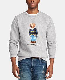 Polo Ralph Lauren Men's Big & Tall Polo Bear Fleece Sweatshirt