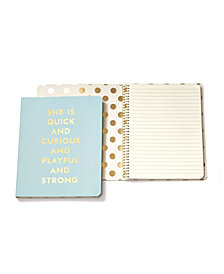 Kate Spade New York Spiral Notebook, Quick And Curious Blue