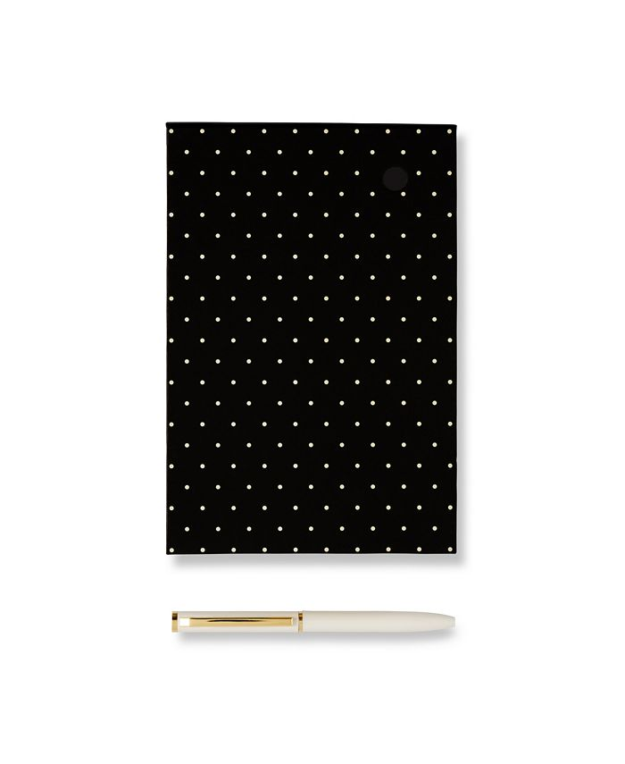 ban.do - KSNY Loose Note Holder With Pen Black Dots