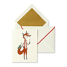 Kate Spade New York Card Set, Fox
