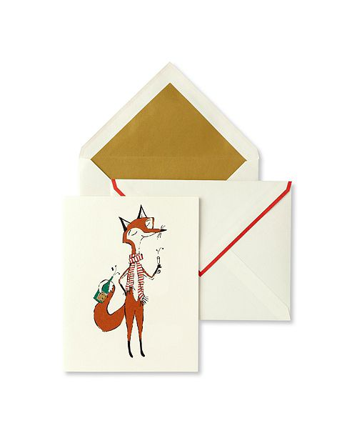 kate spade new york Card Set, Fox