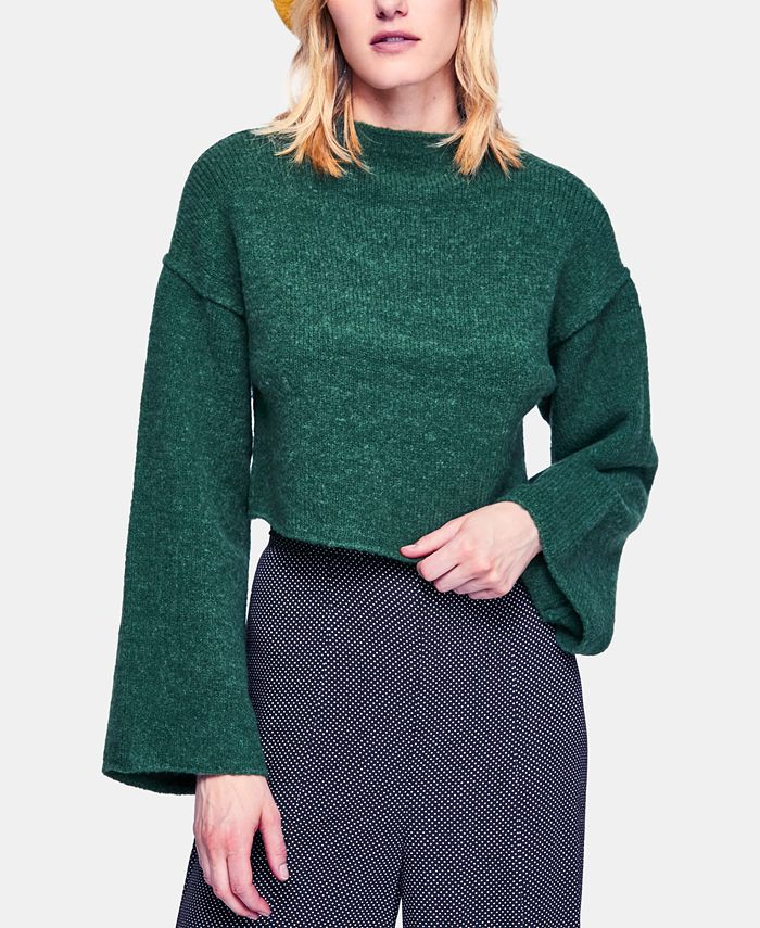 Free People - Lost In A Forest Chenille Cropped Sweater