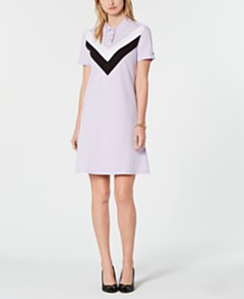 8ef7a2ff25417 Tommy Hilfiger Chevron Polo Dress, Created for Macy's