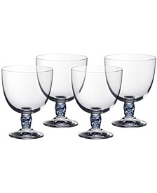 Montauk Aqua White Wine, Set of 4
