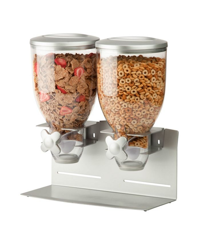 Honey Can Do - Zevro by  Pro Model Double Cereal Dispenser