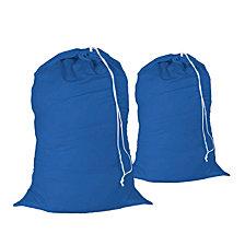 Honey Can Do Cotton Laundry Bag, Set of 2