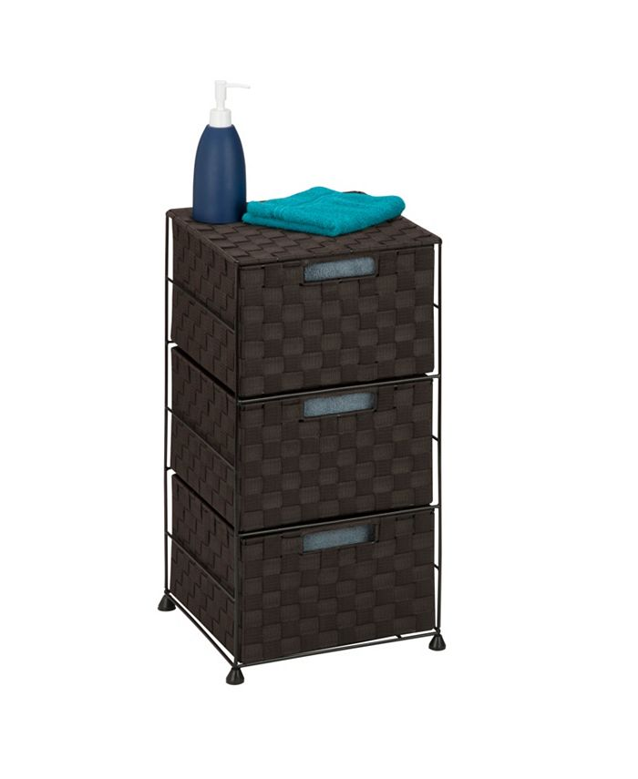 Honey Can Do - 3-Drawer Rolling Cart
