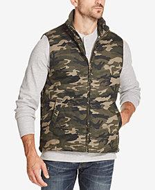 Weatherproof Vintage Men's Camouflage Full-Zip Vest, Created for Macy's