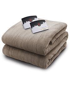 Biddeford Heated Microplush Blankets