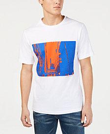 Calvin Klein Jeans Mens Cityscape Graphic T-Shirt