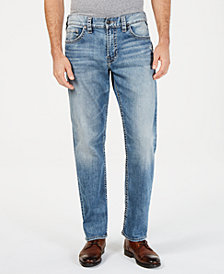 Silver Jeans Co.  Men's Hunter Loose Fit Taper Jeans