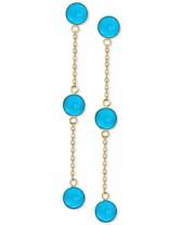b6421ff36 Turquoise Earrings: Shop Turquoise Earrings - Macy's