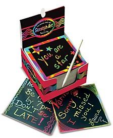Rainbow Mini Scratch Art Notes (Box of 125)