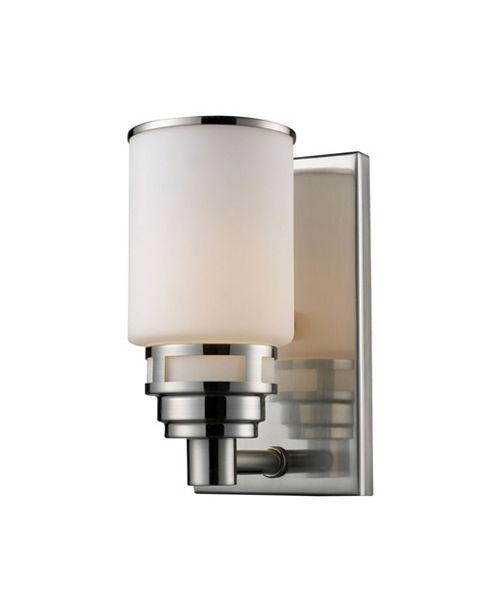 ELK Lighting Bryant 1-Light Wb in Satin Nickel