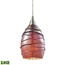 Vines 1 Light Pendant