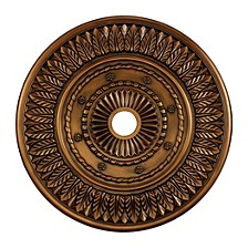 "Corinna Medallion 33"" in Antique Bronze Finish"